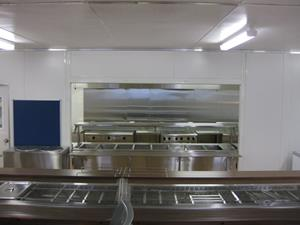 21x12 Kitchen Diner 100 Person Expandable up to 200 Person 005