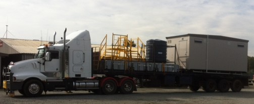Portable Toilet Ablution | Ascention Assets | Portable Buildings | Transport