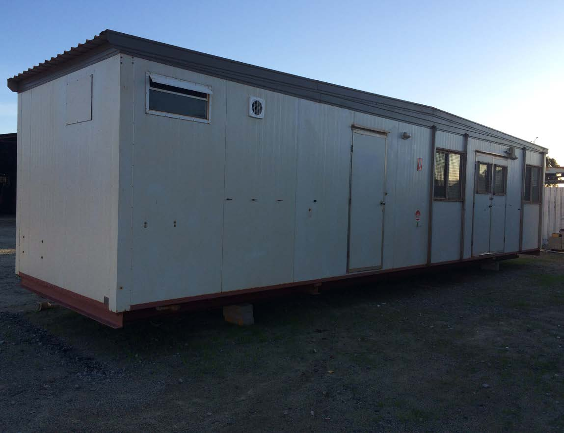 First Aid Building 12.0mx3.0m - One Available