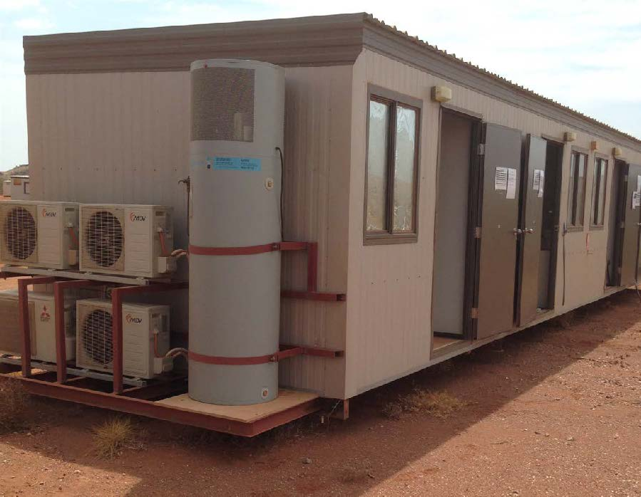 Four Person Quarters 14.4mx3.3m ensuited