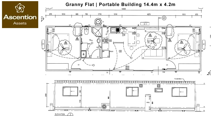 Granny Flat Portable Building | Ascention Assets